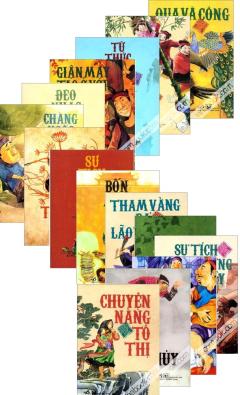 Tranh Truyện Cổ Tích Việt Nam - Bộ 15 Cuốn