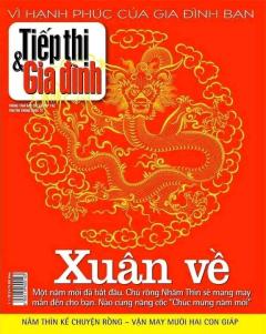 Tiếp Thị & Gia Đình - Số Xuân Ra Ngày 02-01-2012 (Quà Tặng Đính Kèm Túyp Dầu Xả Follow Me 200ml)