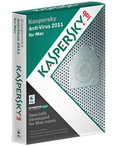 Kaspersky® Anti-Virus 2011 for Mac Mới