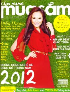 Cẩm Nang Mua Sắm - Số 250 - Quà Tặng Đính Kèm Chai Dầu Ăn Marvela 250ml (Tháng 01/2012)