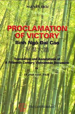 Proclamation Of Victory - Bình Ngô Đại Cáo (Anh - Việt - Trung)