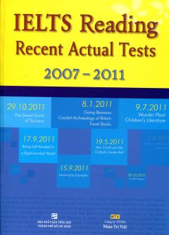IELTS Reading Recent Actual Tests 2007 - 2011