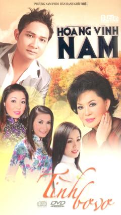 CD + DVD Tình Bơ Vơ - Hoàng Vĩnh Nam (Vol.2)