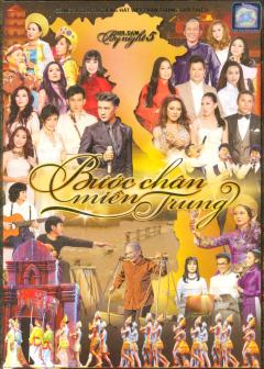 DVD Liveshow Mr.Dam By Night 5 - Bước Chân Miền Trung - Đàm Vĩnh Hưng (Gồm 2 DVD)
