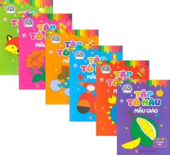 Bộ Sách Tập Tô Màu Mẫu Giáo - Dành Cho Trẻ Mầm Non (Bộ 6 Cuốn)