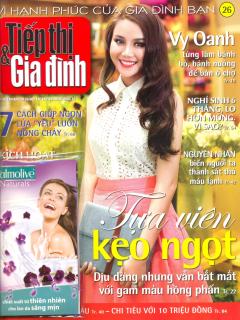 Tiếp Thị & Gia Đình - Số 26 - Kèm Quà Tặng: Một Gói Sữa Tắm Palmolive (Tháng 7/2012)