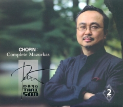 CD Chopin: Complete Mazurkas - Đặng Thái Sơn (Gồm 2 CD)