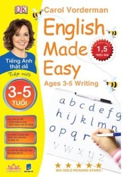 Tiếng Anh Thật Dễ 3-5 Tuổi - Tập Viết (Song Ngữ)