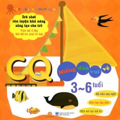 500 Miếng Bóc Dán Thông Minh - CQ Miếng Dán Vui Vẻ (3~6 Tuổi)