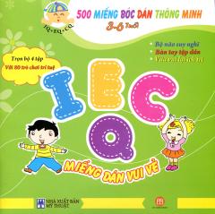 500 Miếng Bóc Dán Thông Minh - IECQ Miếng Dán Vui Vẻ (3~6 Tuổi)