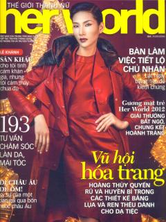 Thế Giới Thanh Nữ - Her World (Tháng 12/2012)