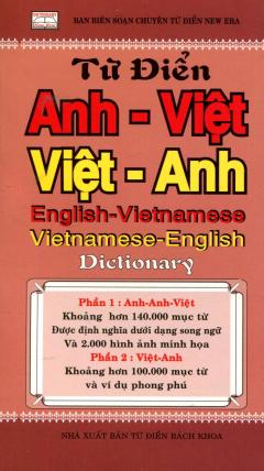 Từ Điển Anh - Việt, Việt - Anh - Tái bản 06/2013