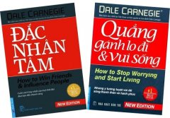 Bộ Sách Rèn Luyện Kỹ Năng Sống Của Tác Giả  Dale Carnegie - Bộ 2 Cuốn