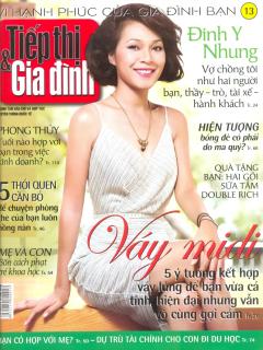 Tiếp Thị & Gia Đình - Số 13 (Tháng 4/2013)