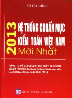 Hệ Thống Chuẩn Mực Kiểm Toán Việt Nam Mới Nhất 2013