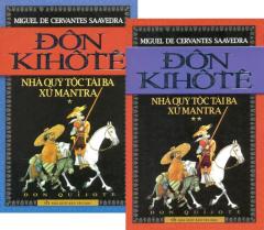Đôn Kihôtê - Nhà Quý Tộc Tài Ba Xứ Mantra (Bộ 2 Tập)