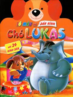 Tô Màu Và Dán Hình Chó Lukas - Với 24 Hình Dán #