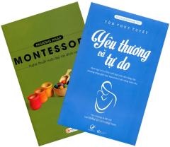 Combo Nuôi Dạy Trẻ Theo Phương Pháp Montessori (Bộ 2 Cuốn)