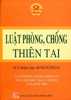 Luật Phòng, Chống Thiên Tai