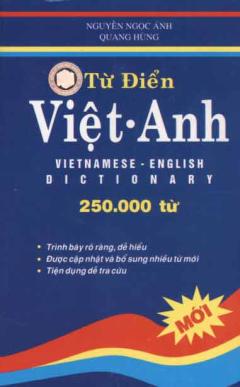 Từ Điển Việt - Anh (250.000 từ)