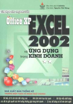 EXCEL 2002 Và Ứng Dụng Trong Kinh Doanh