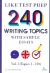 240 Writing Topics With Sample Essays Vol.1 (Topics 1 - 120)