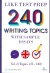 240 Writing Topics With Sample Essays Vol.2 (Topics 121 - 240)