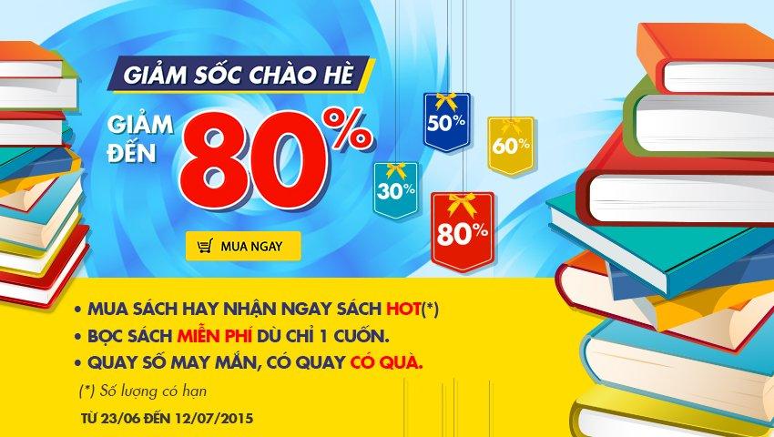 Giảm Sốc Chào Hè - Giảm Đến 80%