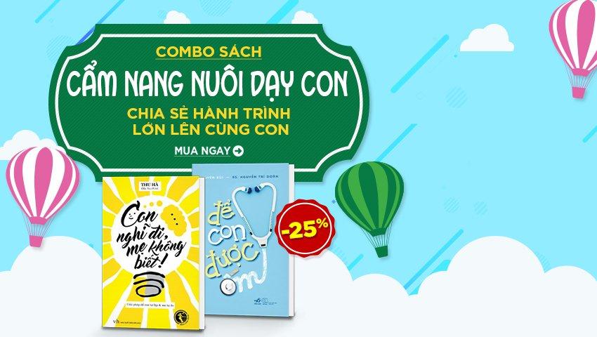 Combo Sách Cẩm Nang Nuôi Dạy Trẻ