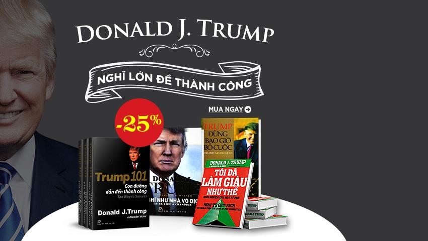 Tuyển Tập Sách Donald.J.Trump