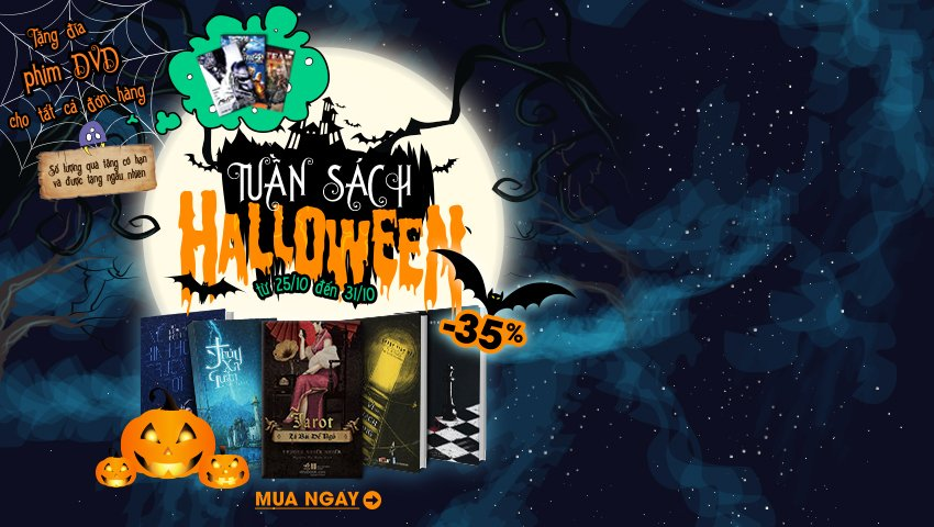 Tuần Sách Halloween