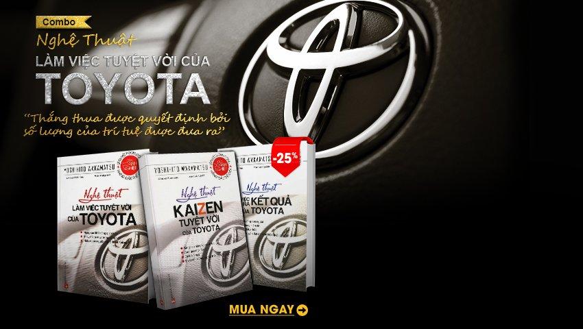 Combo Nghệ Thuật Làm Việc Tuyệt Vời Của Toyota