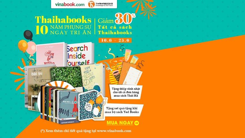 Mừng Sinh Nhật Thái Hà Books