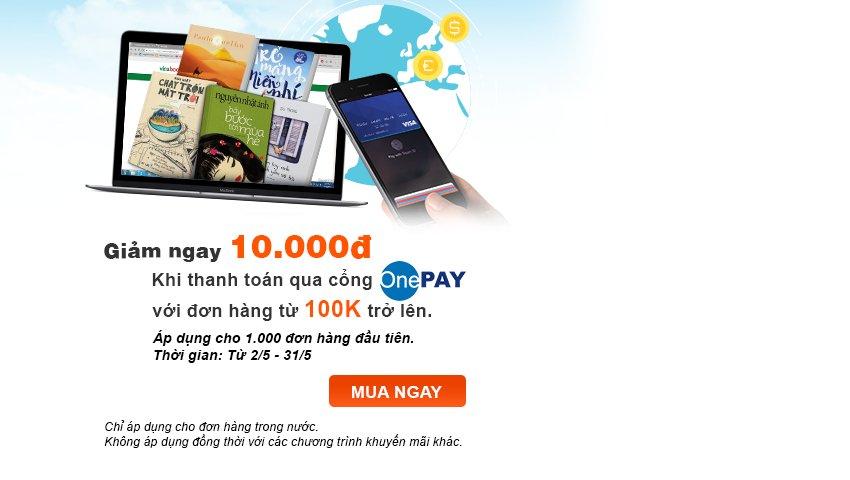 Ưu Đãi Giảm Thêm 10K Từ OnePAY