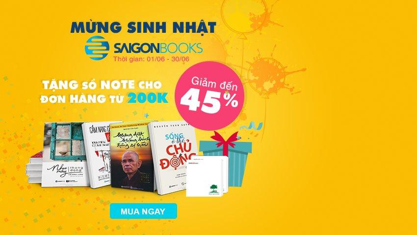 Mừng Sinh Nhật Saigon Books